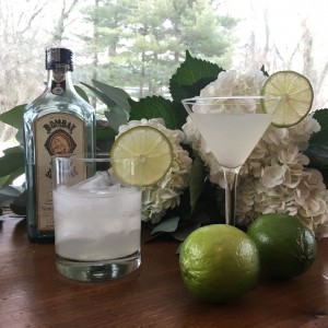 Wedding or Party Specialty Cocktail a Fresh Gimlet