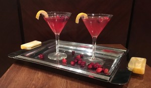 Spiced Cranberry Martini