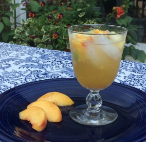 Peach Apple Sangria