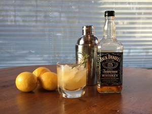 Rosemary Whiskey Sour