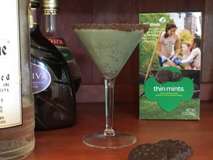 Cocktail of the Week: Thin Mint Martini – Li Halpern ...